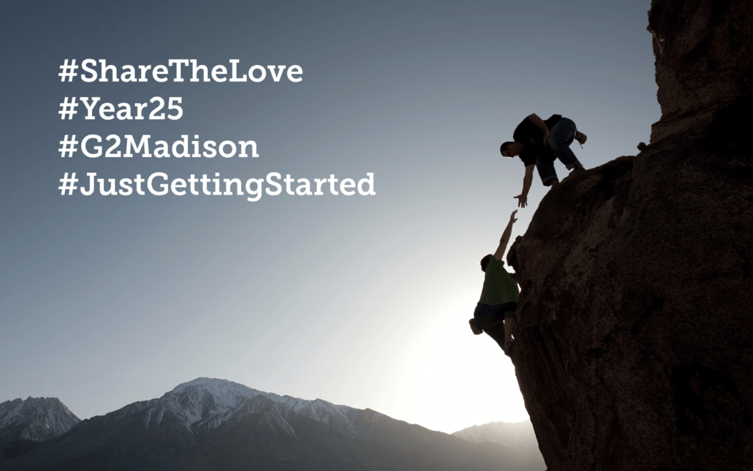 #ShareTheLove – Celebrate our 25th Year at Aurora WDC by Bringing In Your Team to RECONVERGE:G2 in Madison this April